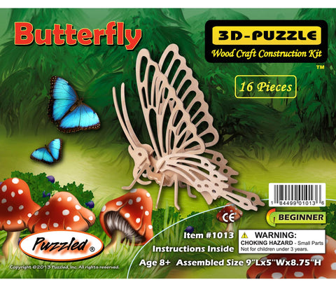 Butterfly 3D Puzzle