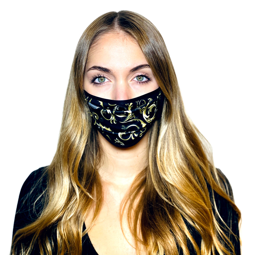 BLACK BAROQUE L.A.W BANDANA MASK