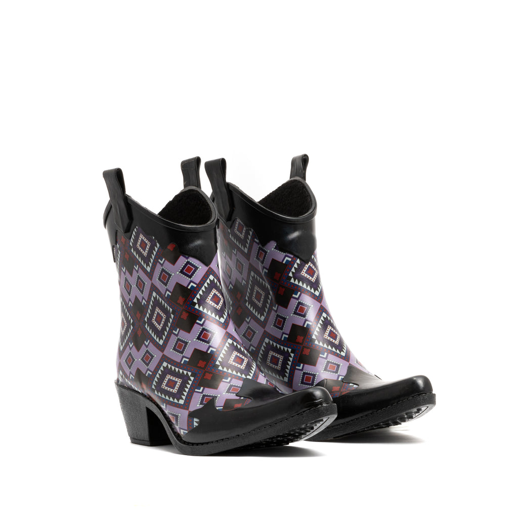PURPLE BOHO BOOT