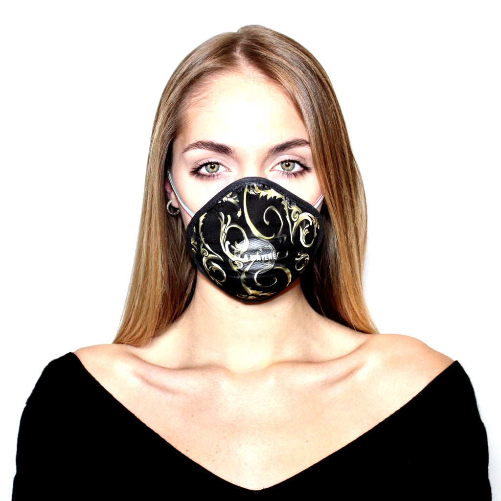 BLACK BAROQUE L.A.W MASK