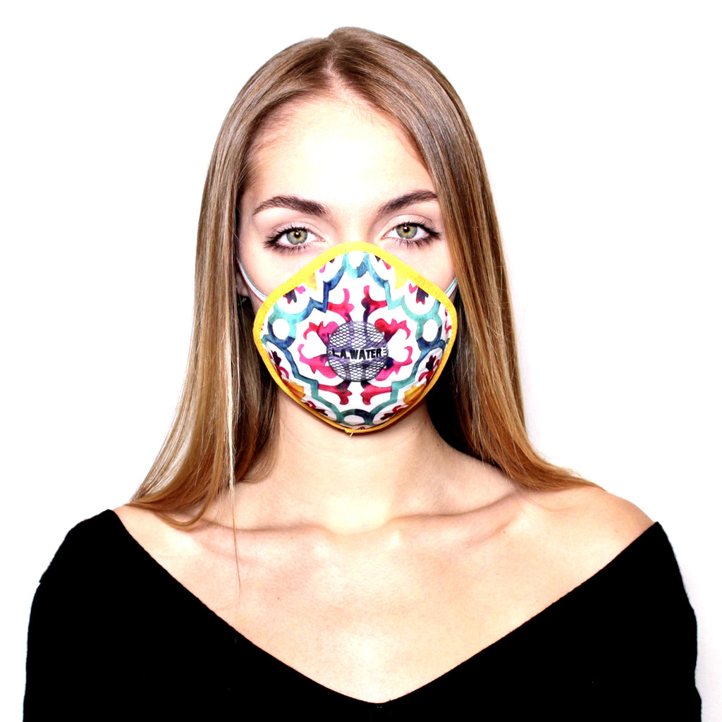 MULTICOLOURED MAJOLICA L.A.W MASK