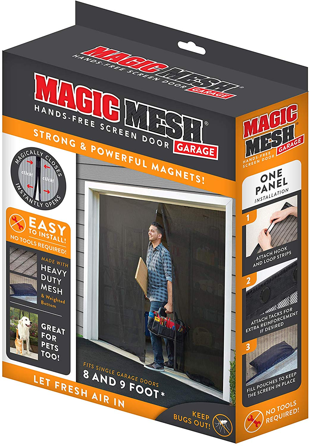 Discounted Magic Mesh® Garage Door
