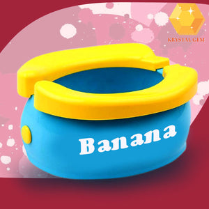 Banana Toddler Training Toilet