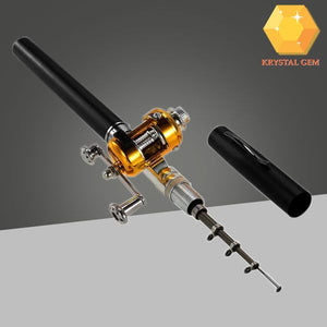 Pen-shaped Telescopic Fishing Rod