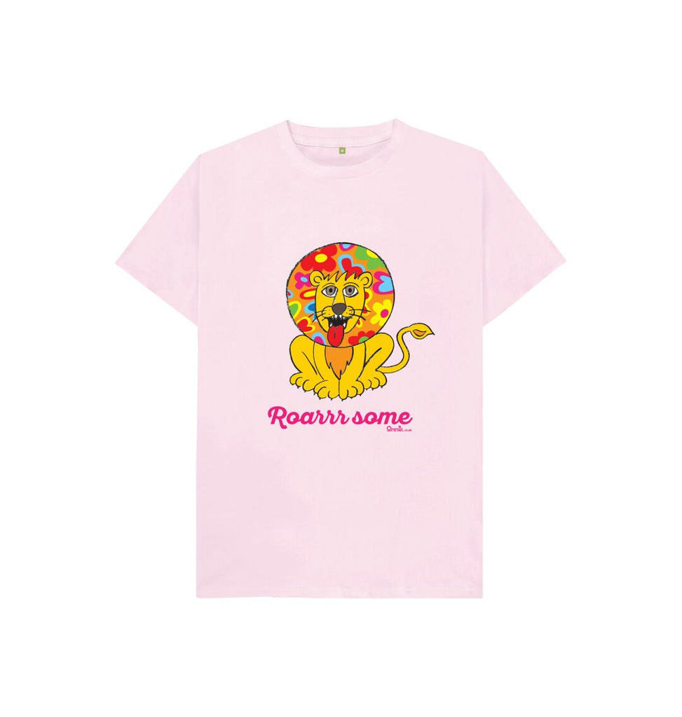 Pink Roarr some Lion T-shirt pink