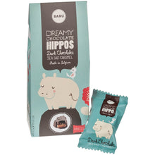 Load image into Gallery viewer, Fleur De Sel Chocolate Hippos / 4 pieces / 60g