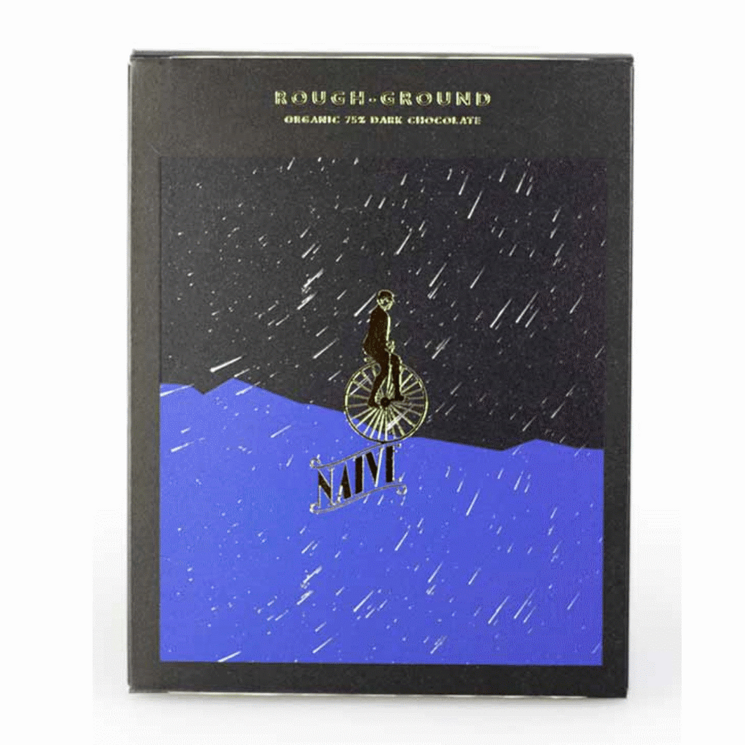Rough Ground Organic Dark Chocolate / 75%