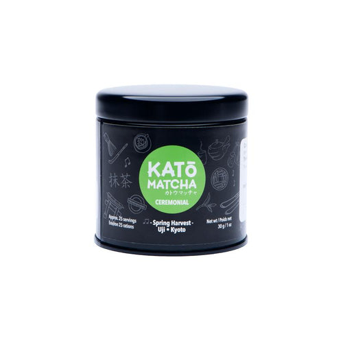 Kato Matcha Spring / Ceremonial Grade / 30g Tin - 25 Servings
