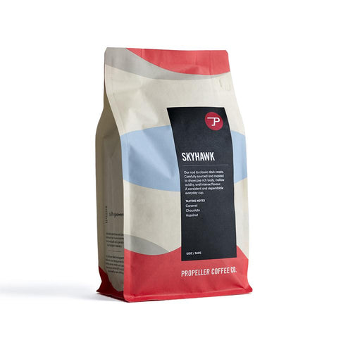 Skyhawk  / Dark Roast Roast Whole Bean Coffee / 340g