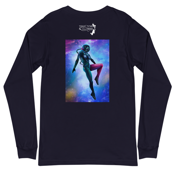 Tokin' Tina Outer Space Long Sleeve T-Shirt