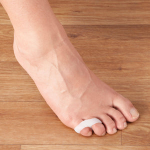 Gel Toe Separators - Toe Spacer Two  Loop : 4 Pack