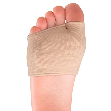 Fabric Metatarsal Sleeve With Cushion : Ball of Foot Slip On Cushions - 1 Pair