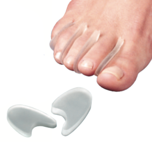 Toe Separators- Toe Spacers With No Loops - 6 Pack