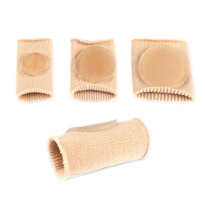 Gel Lined Corn Protector Toe Tubes - 4 Pack