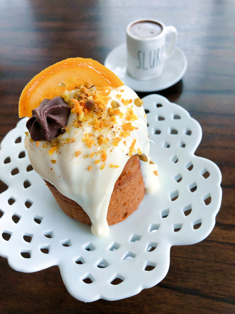 Orange Honey Ginger Cake Recipe