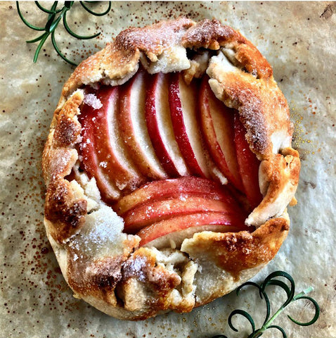 Apple Galette - French Pie