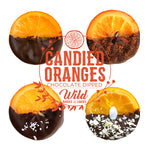 Load image into Gallery viewer, Assorted Gourmet Gift Box - Candied Orange Slices Dipped in Chocolate
