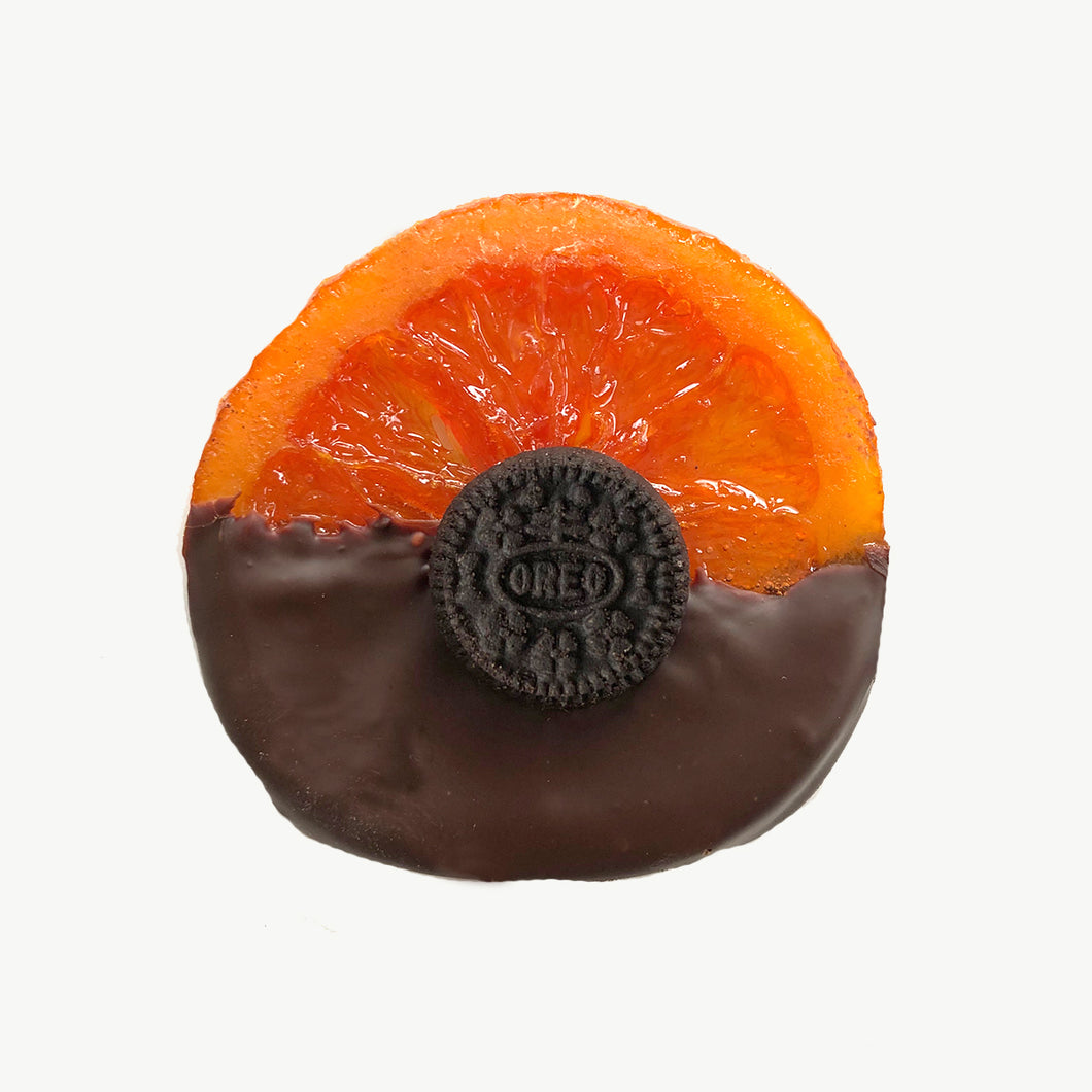 Oreo Candied Orange Slices Dipped in Chocolate - Gift Box