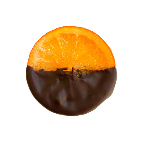 Gourmet Candied Orange Slices Dipped in Chocolate - Gift Box