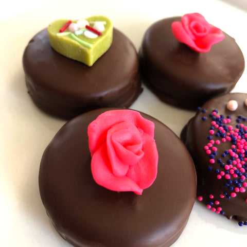 Spring Chocolate covered Oreos