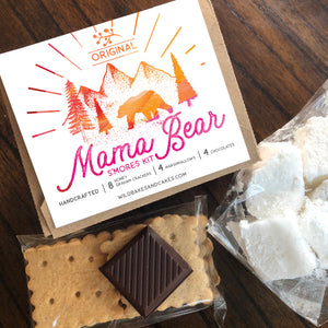 Gourmet S'mores Kit Gift Box for Four