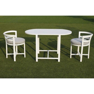 Juno Outdoor 3pc Balcony Dining Set