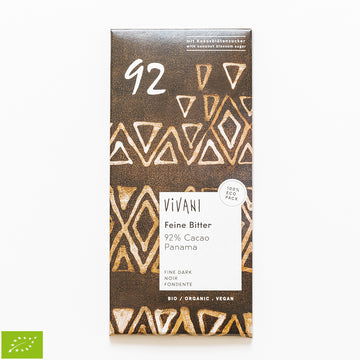 Chocolate Preto 92 % Cacau Bio