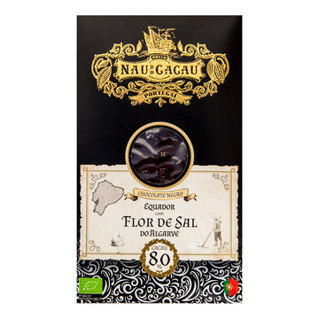 Chocolate Preto com Flor de Sal do Algarve Bio