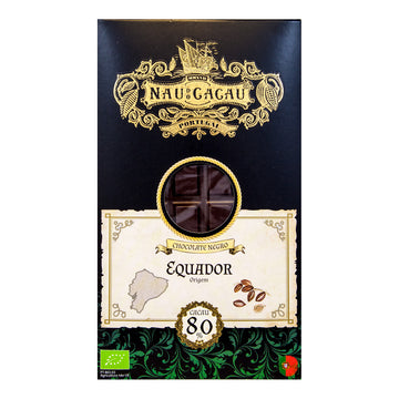 Chocolate Preto Equador Bio 80%