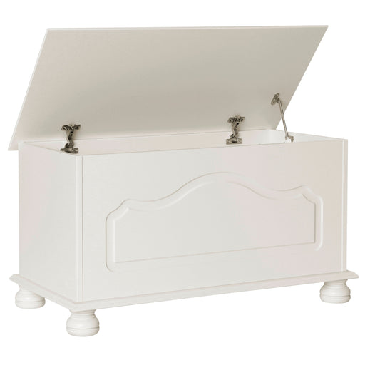 Copenhagen Blanket Box in White (1010801) - Insta Living