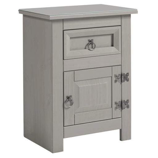 Core Products CPT510 Corona Compact 1 Drawer Bedside Cabinet - Insta Living