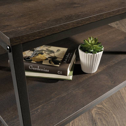 Teknik Industrial Style Coffee Table Smoked Oak Finish (5423025) - Insta Living