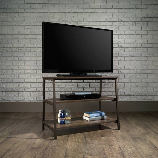 Teknik Industrial Style Smoked Oak TV Stand (5423027) - Insta Living