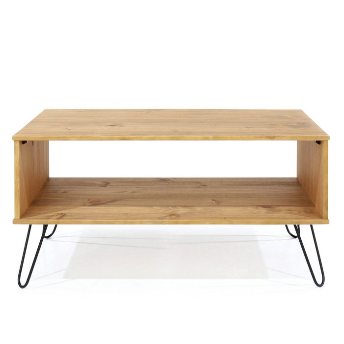 Core Products AG902 Augusta Pine Open Coffee Table - Insta Living