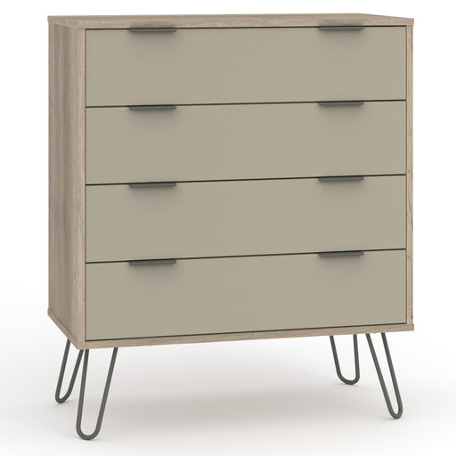 Core Products AGD514 Augusta Driftwood 4 Drawer Chest of Drawers - Insta Living