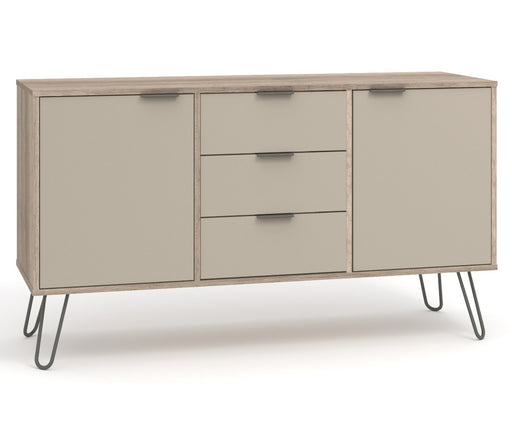Core Products AGD916 Augusta Driftwood Medium Sideboard with 2 Doors, 3 Drawers - Insta Living