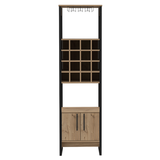 Core Products BK914 Brooklyn 2 Door Tall Wine Rack - Insta Living