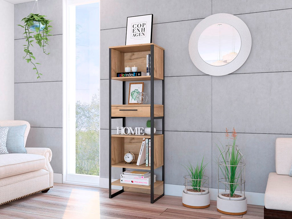 Core Products BK924 Brooklyn Tall Narrow Bookcase - Insta Living