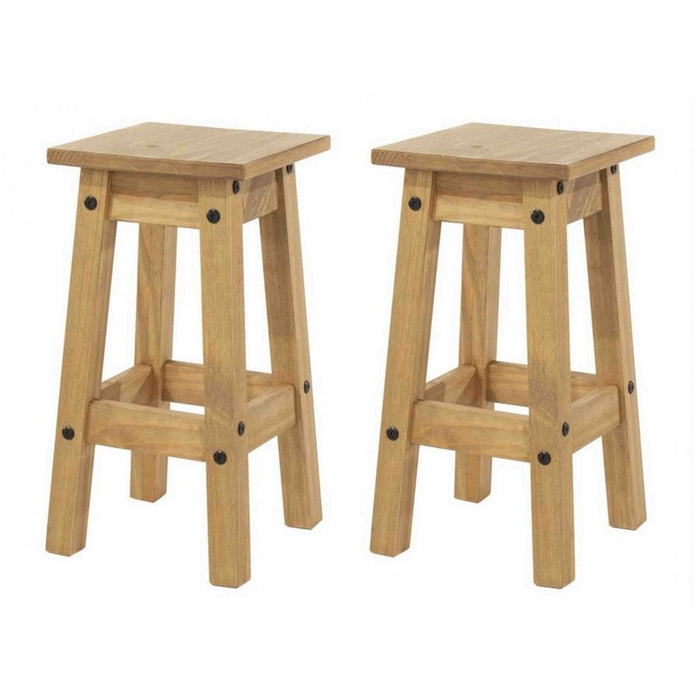 Core Products CR106 Corona Low Kitchen Stools (Pair) - Insta Living