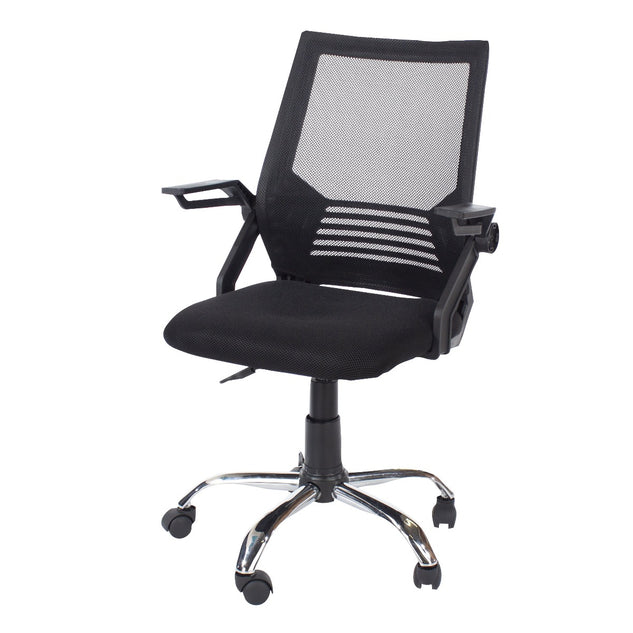 Core Products LFCH28-BK Loft Home Office Black Study Chair - Insta Living