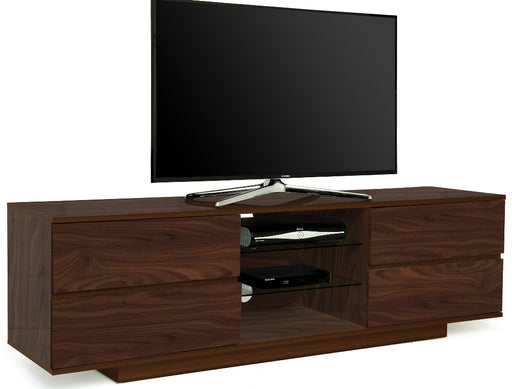 "MDA Designs Avitus Walnut TV Cabinet for up to 65"" Screens - Insta Living"