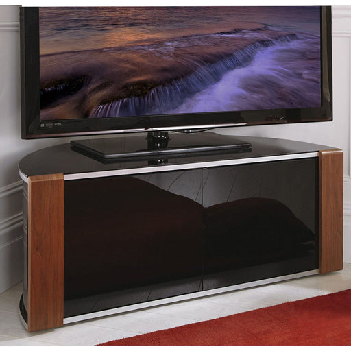 "MDA Designs Sirius 850 Walnut TV Cabinet for up to 40"" Screens - Insta Living"