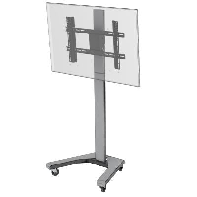 "PMVmounts Floor / Trolley Stand for 32"" to 55"" TV Screens (PMVTROLLEY2) - Insta Living"