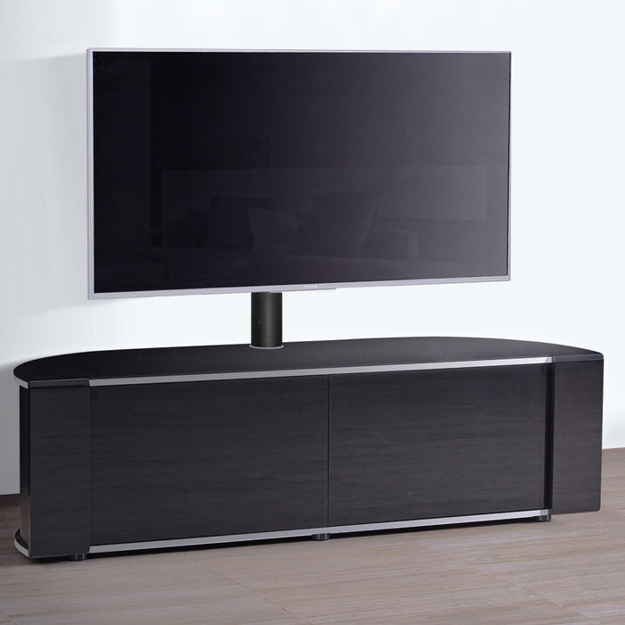 "MDA Designs Sirius 1600 Hybrid Black TV Cabinet for up to 65"" Screens - Insta Living"
