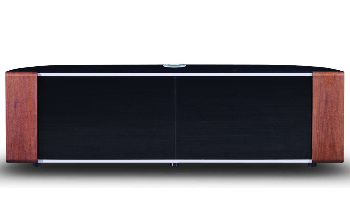 "MDA Designs Sirius 1600 Hybrid Oak TV Cabinet for up to 65"" Screens - Insta Living"