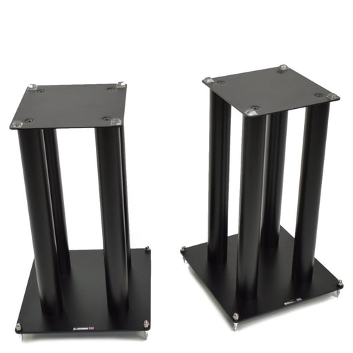 Atacama SLX500 Satin Black Speaker Stands (Pair) - Insta Living