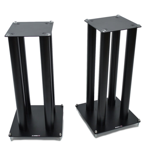 Atacama SLX600 Satin Black Speaker Stands (Pair) - Insta Living