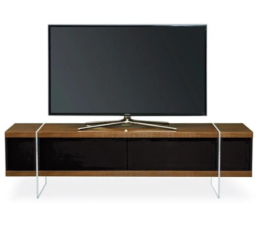 "MDA Designs Space 1600 Hybrid Walnut TV Cabinet for up to 65"" Screens - Insta Living"