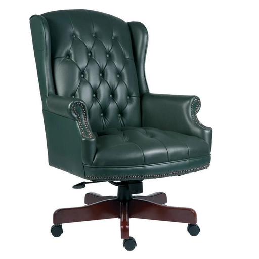 Teknik Chairman Green Executive Chair (B800GR) - Insta Living