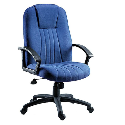 Teknik City Blue Fabric Executive Chair (8099BL) - Insta Living